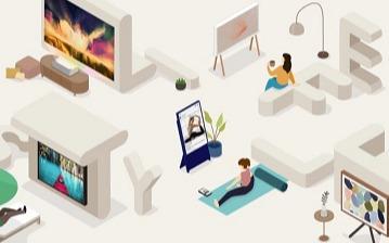 突破傳統形態,三星Lifestyle模糊了電視與藝術品的邊界